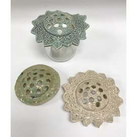 Tricia Eisner Ceramic Flower Frog