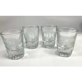 Glass Graphics New Hampshire Shot Glass