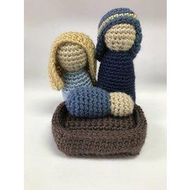 White Mountain Yarnery Crochet Nativity Set
