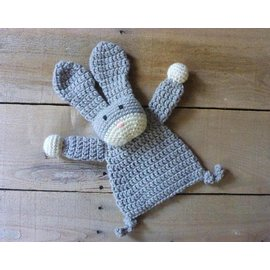 White Mountain Yarnery Crochet Bunny Lovey