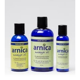 Body Lounge Arnica Massage Oil - 4 oz