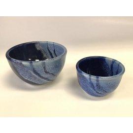 Tricia Eisner Set of Two Small Ceramic Bowls