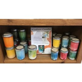 Windsor Candle Soy Canning Jar Candles - 16 oz