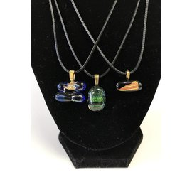 Donna Compagna Dichroic Glass Necklace