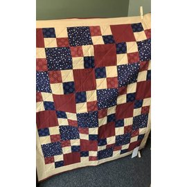 Cynthia Johnson Patriotic Flannel Quilt