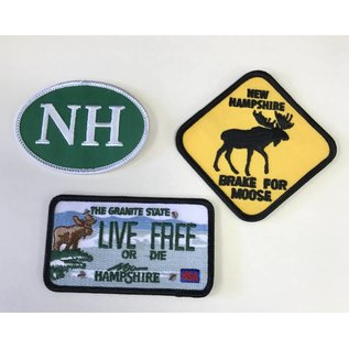 Eastern Illustrating Souvenir New Hampshire Patches
