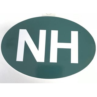 Eastern Illustrating Oval NH Decal / Sticker