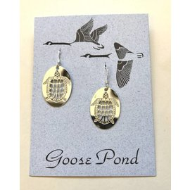 Goose Pond Turtle Earrings