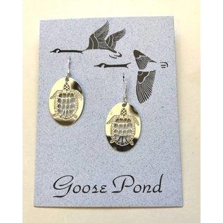 Goose Pond Turtle Earrings