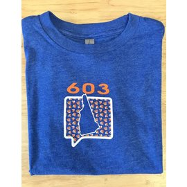 Talk It Up Tees 603 New Hampshire T-Shirt - Youth