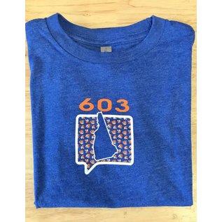 Talk It Up Tees 603 New Hampshire T-Shirt - Youth