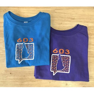 Talk It Up Tees 603 New Hampshire T-Shirt - Toddler