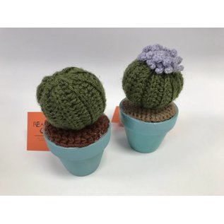 Real Horror Show Crafts Crochet Cactus
