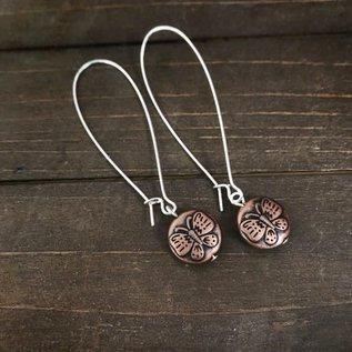 Apple and Azalea Dangle Earrings