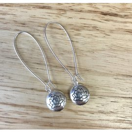 Apple and Azalea Dangle Earrings