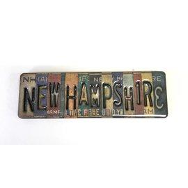 Eastern Illustrating Vintage New Hampshire License Plate Magnet