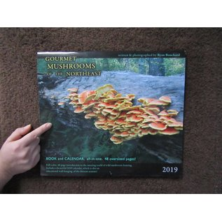 Ryan Bouchard 2019 Gourmet Mushroom of the Northeast Book and Calendar