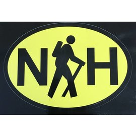Eastern Illustrating NH Hike Decal / Sticker