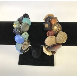 Tresa Leigh Originals Vintage Button Charm Bracelet