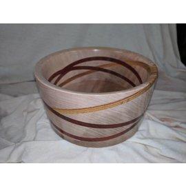 "Dave Designs ""Cosmos"" Wood Bowl"