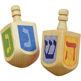 Maple Landmark Wood Dreidel