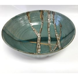 Muddy Girls Studio Birch Tree Pottery Bowl
