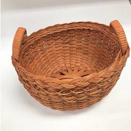 Diane Perry-Mann Round Woven Basket