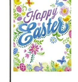 Easter miche designs and gifts happy easter garden suede flag negle Image collections