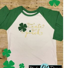 too cute to pinch st day shirt