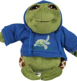 Plush Hoodie Sea Turtle