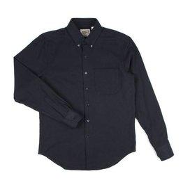 Naked & Famous Mens Herringbone Soft Flannel Regular Shirt