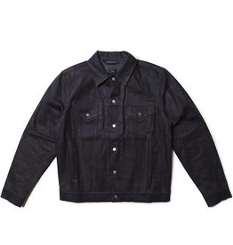 Raised by Wolves C4X Wax Denim Snap Trucker Jacket