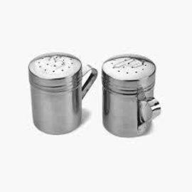 RSVP RSVP Stainless Steel Salt and Pepper Shakers