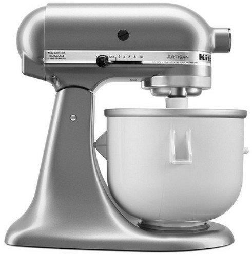 ... KitchenAid KitchenAid Stand Mixer Attachment Ice Cream Maker KICA0WH