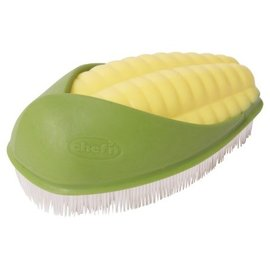 Chef'n CHEFN Corn Scrub Brush Arugula/ Lemon