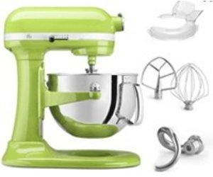 KitchenAid KitchenAid Stand Mixer 6 Qt Bowl Lift Green Apple KP26M1XGA    Murphyu0027s Department Store