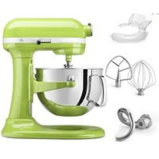 kitchenaid kitchenaid stand mixer 6 qt bowl lift green apple