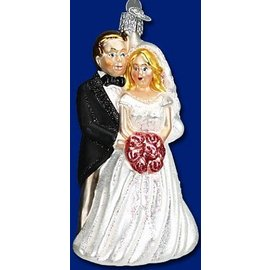 Old World Christmas OWC Bridal Couple