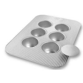 USA Pans USA Pans Mini Cheesecake Pan