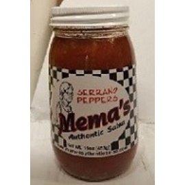 Mema's Salsa Mema's Salsa Serrano