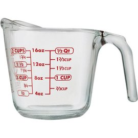 Harold Import Company Inc. HIC Oven Proof Measuring Cup 2 Cups