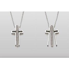 Trinity Cross Trinity Cross Necklace Courage