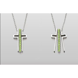 Trinity Cross Trinity Cross Necklace Gratitude CLOSEOUT