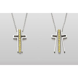 Trinity Cross Trinity Cross Necklace Miracles CLOSEOUT