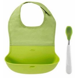 OXO OXO Tot Roll Up Bib Green DNR