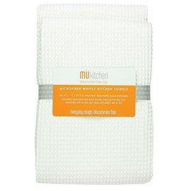 MUkitchen MuKitchen Waffle Towel Set of 2 White
