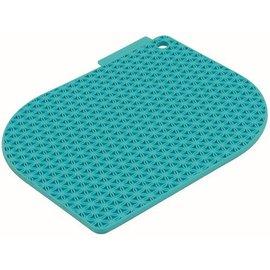 Charles Viancin Charles Viancin Honeycomb Pot Holder Turquoise