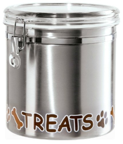 OGGI OGGI Stainless Pet Treats Canister 150 oz  sc 1 st  Murphyu0027s Department Store & OGGI OGGI Stainless Pet Treats Canister 150 oz - Murphyu0027s Department ...