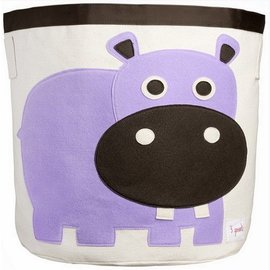 3 Sprouts 3 Sprouts Storage Bin Hippo