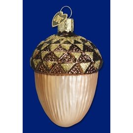 Old World Christmas OWC Large Acorn
